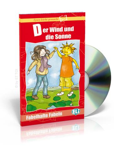der wind und die sonne cd audio eur european language bookstore eli. Black Bedroom Furniture Sets. Home Design Ideas