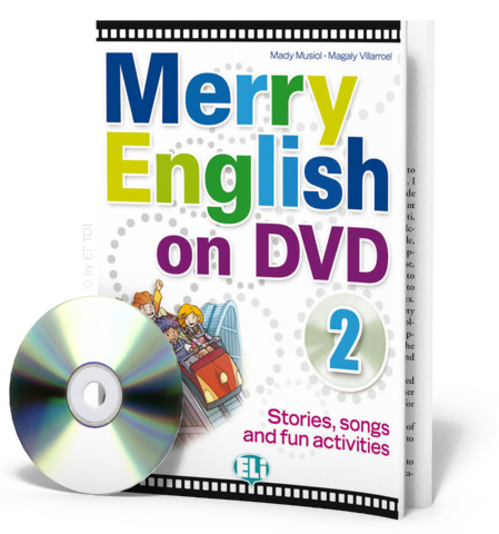 Merry English on DVD 2 - (Book + DVD)