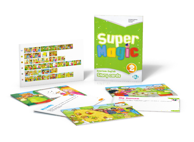 Super Magic 2 - Story Cards