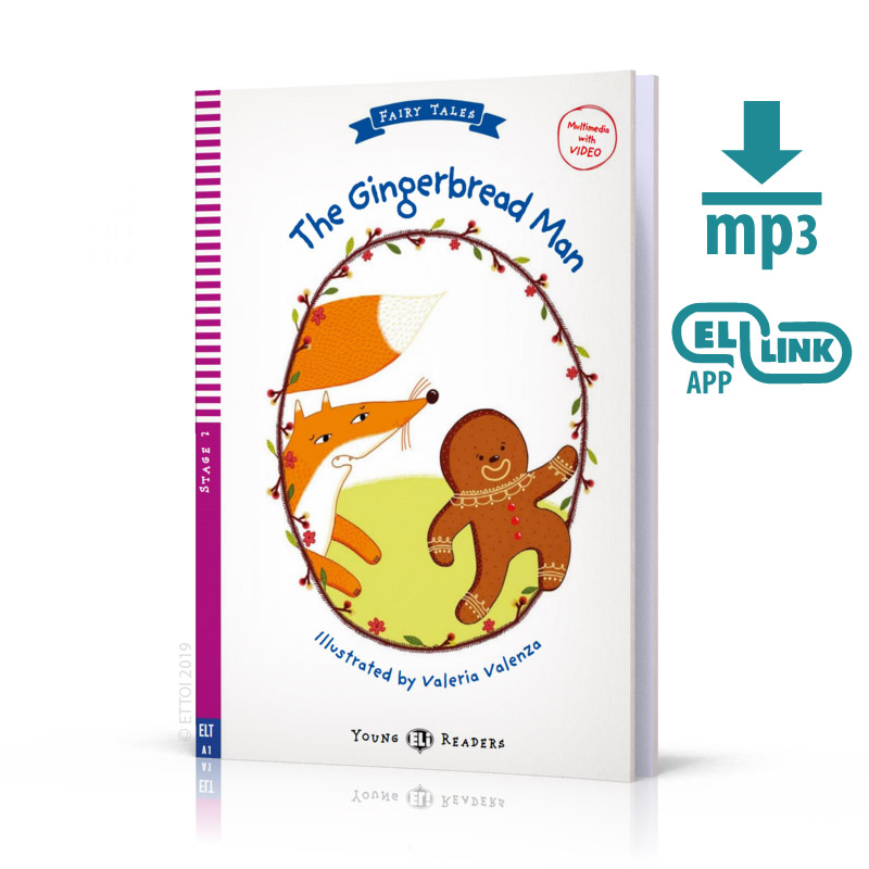 The Gingerbread Man + mp3 audio